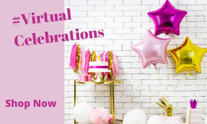 Virtual Party Decorations I Modern Party Supplies I My Dream Party Shop UK