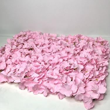 Pretty Pink Hydrangea Flower Wall Hire I Ruislip I Eastcote I Middlesex