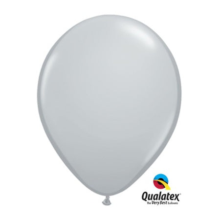 Grey 11 Inch Qualatex Party Balloons I Pretty Party Decor I My Dream Party Shop I UK