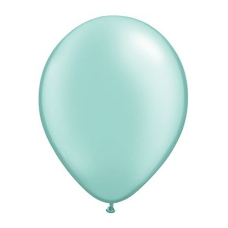 Pearl Mint Green 11 Inch Balloon by Qualatex I Modern Party Balloons I My Dream Party Shop UK