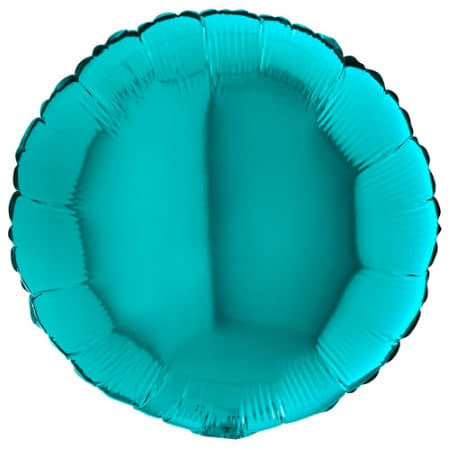 Tiffany Blue Round Foil Balloon I Turquoise Party Supplies I My Dream Party Shop UK
