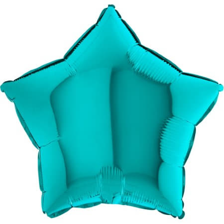 Tiffany Blue Star Foil Balloon I Modern Party Balloons I My Dream Party Shop UK