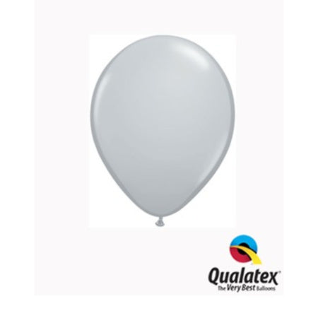 Grey 5 Inch Qualatex Tiny Party Balloons I Balloon Decor I Balloon Bunting I Balloon Pops I My Dream Party Shop I UK