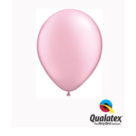 Pearl Pink 5 Inch Balloons by Qualatex I Pretty Party Balloons I UK