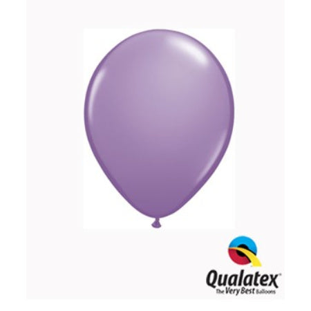 Spring Lilac 5 Inch Balloons by Qualatex I Pretty Tiny Balloons I UK