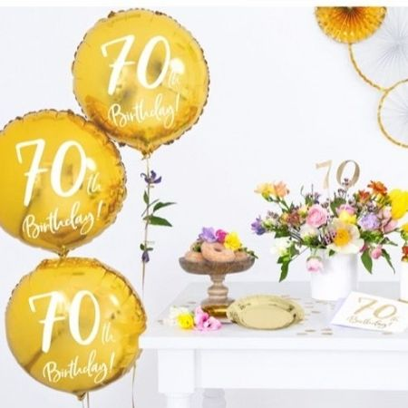 70th Birthday Napkins I 70th Birthday Party Supplies I My Dream Party Shop UK