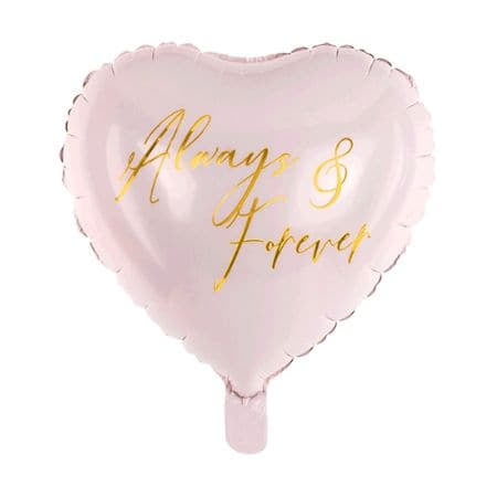Always and Forever Heart Balloon Cluster I Helium Collection Ruislip