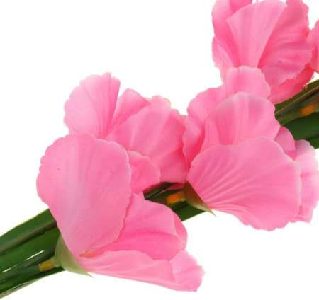Artificial Pink Gladioli Flower I Artificial Party Flowers I My Dream Party Shop I UK