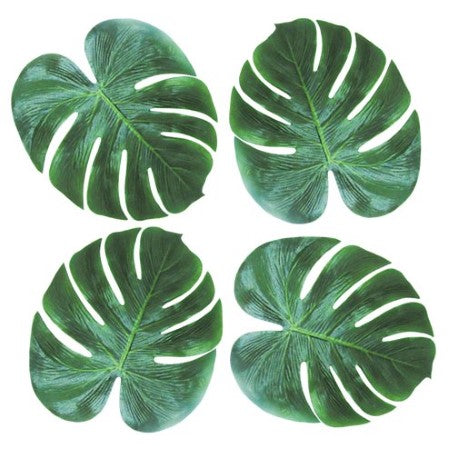 Artificial Tropical Palm Leaves I Party and Table Decorations I My Dream Party Shop I UK