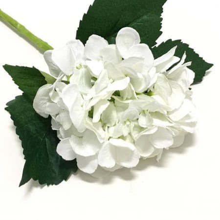 Artificial White Hydrangea I Pretty Wedding or Party Flowers I UK