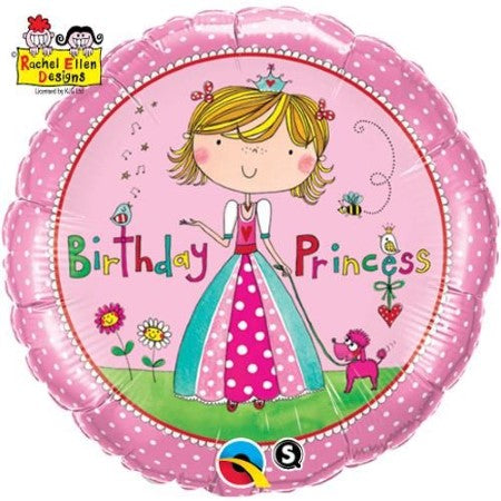 Rachel Ellen Birthday Princess Balloon I Princess Party I My Dream Party Shop
