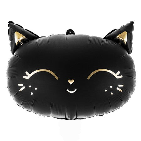Black Cat Foil Balloon I Cat Themed Party I My Dream Party Shop