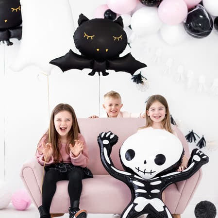 Black Bat Halloween Balloon I Modern Halloween Party Balloons I My Dream Party Shop I UK