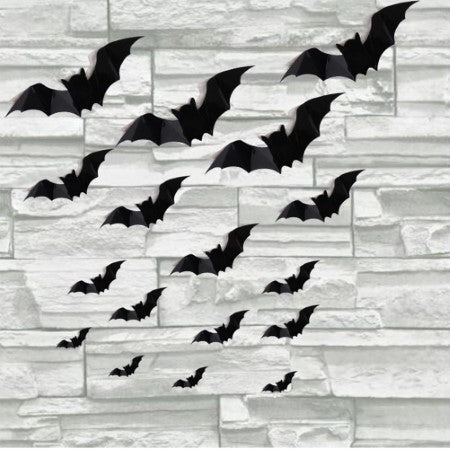 Black Bat Cutout Silhouettes I Halloween Party I My Dream Party Shop I UK