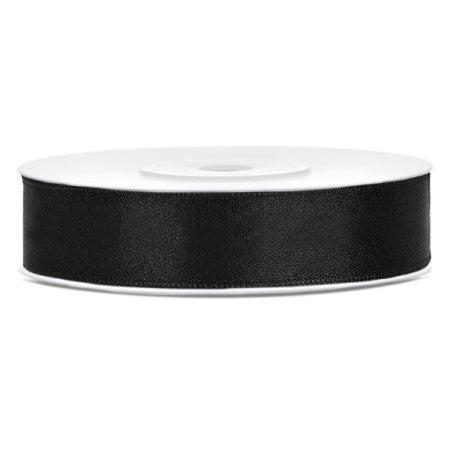Black Satin Party Decoration Ribbon I My Dream Party Shop I UK