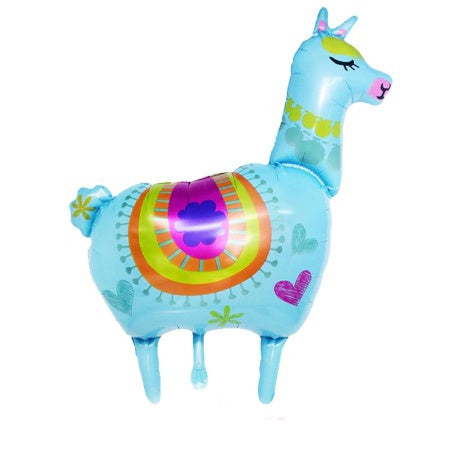 Blue Llama Balloon I Llama Party Decorations I My Dream Party Shop I UK