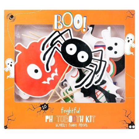 Halloween Photo Props Set I Modern Halloween Party Supplies I UK