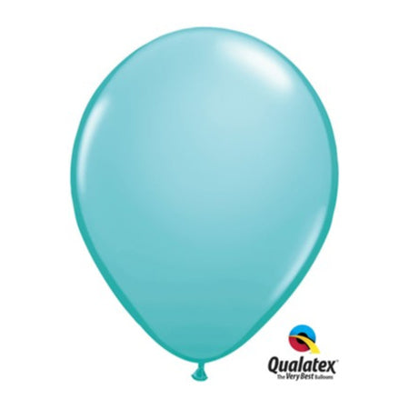 Qualatex 11 Inch Caribbean Blue Balloons I My Dream Party Shop I UK