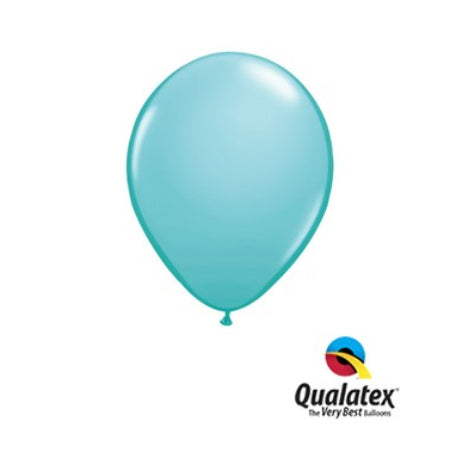 Caribbean Blue 5 Inch Balloons by Qualatex I Cool Party Balloons I UK