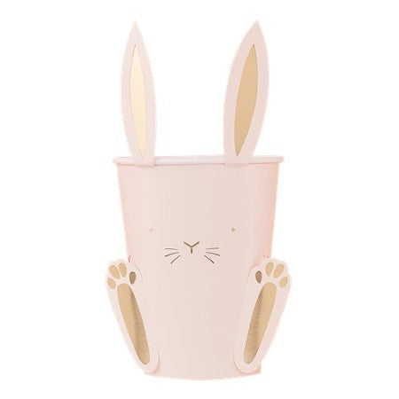 Carrot Crunch Pastel Easter Bunny Cups I Easter Party Tableware I UK
