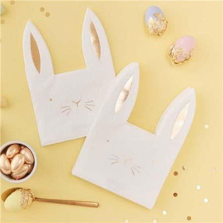 Carrot Crunch Easter Paper Napkins I Ginger Ray I Easter Tableware & Decorations I My Dream Party Shop I UK
