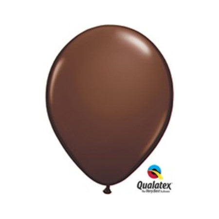 Chocolate Brown 11 Inch Balloons I Cool Party Balloons I My Dream Party Shop I UK