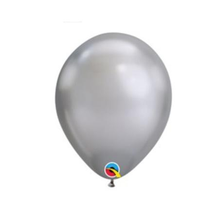 White and Silver Balloon Garland Kit I Silver Balloon Decorations I UK