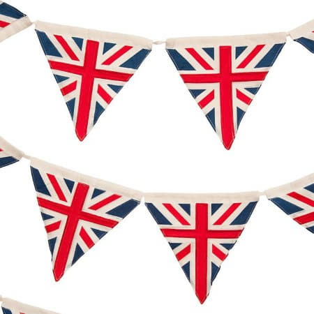 Retro Union Jack Bunting I 1940's Party Decorations I My Dream Party Shop UK