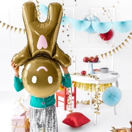 Gingerbread Man Foil Balloon I Christmas Decorations I My Dream Party Shop UK