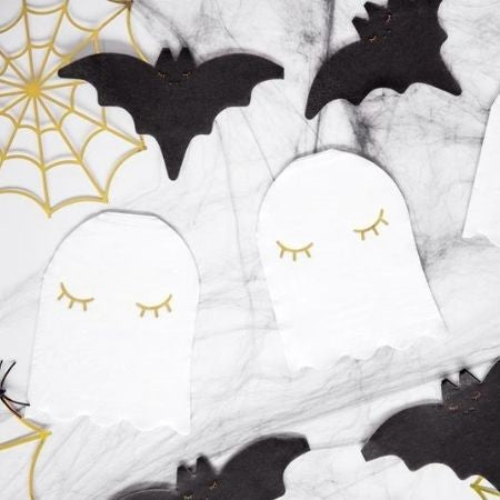 Cute Ghost Napkins I Modern Halloween Party I My Dream Party Shop UK