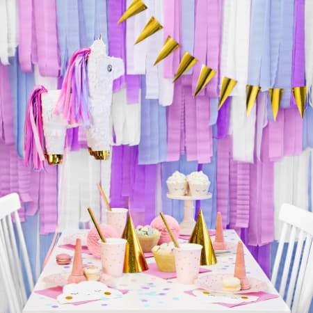 Cute Cloud Napkins I Modern First Birthday Tableware and Decorations I UK
