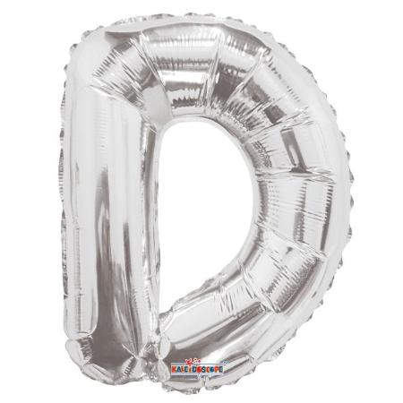 DISCO Phrase Silver Air Filled Letters 14 inch - My Dream Party Shop