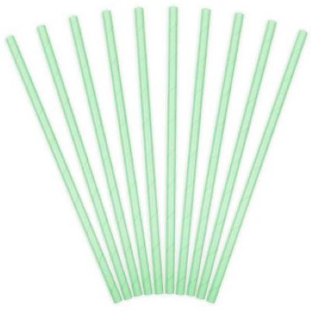Mint Straws I Modern Mint Party Tableware I My Dream Party Shop UK