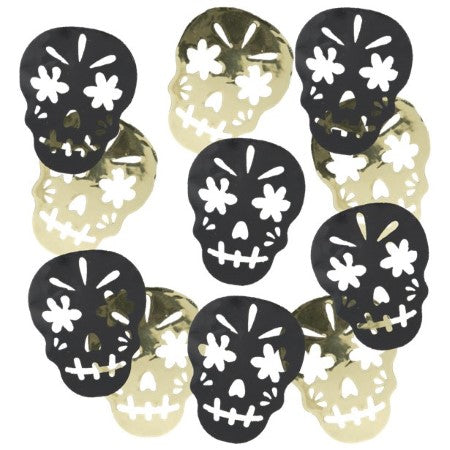 Day of the Dead Skull Confetti I Day of the Dead Party I My Dream Party Shop