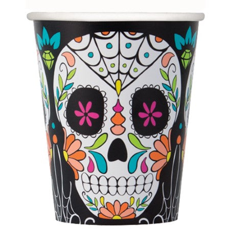 Day of the Dead Skull Cups I Day of the Dead Party I My Dream Party Shop UK