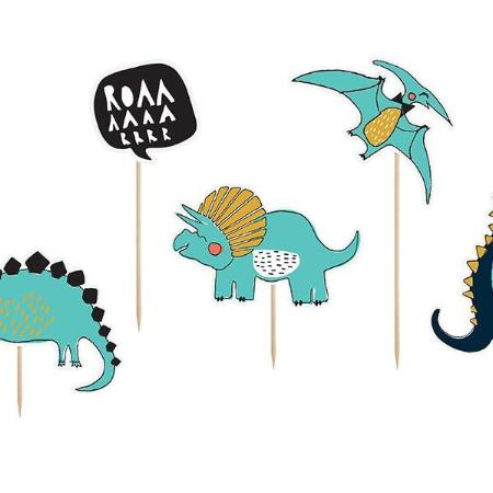 Dino Party Dinosaurs Cake Toppers - My Dream Party Shop