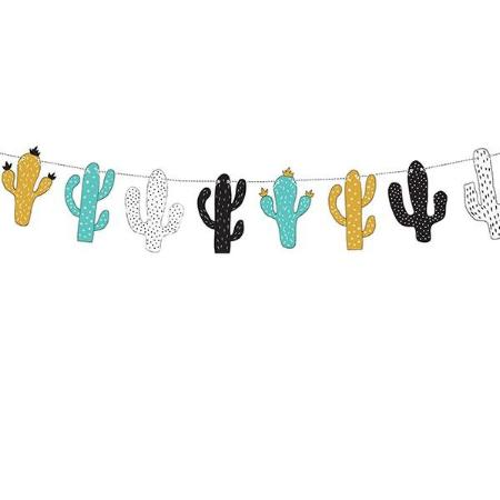 Dinosaur Party Cactus Garland Bunting - My Dream Party Shop