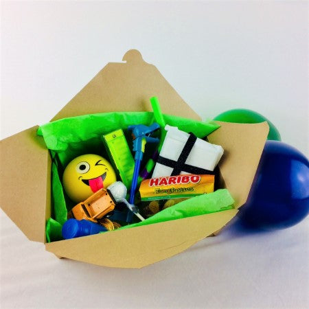 Cool Eco Kraft Party Favour or Food Box for Picnics or BBQ's I Cool Party Tableware I My Dream Party Shop I UK