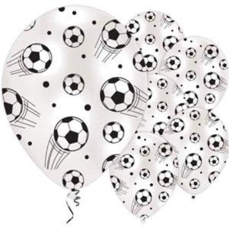 Black and White Football Balloons I Modern Football Party I My Dream Party Shop I UK