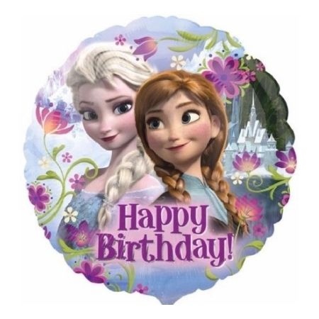 Frozen Happy Birthday Foil Balloon I Frozen Party Supplies I My Dream Party Shop UK