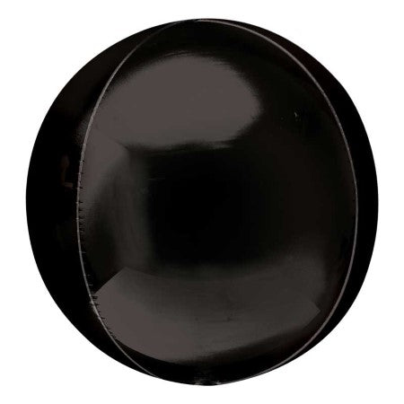 Black Orbz Balloon I 21 Inch I Giant Orbz Balloons I My Dream Party Shop