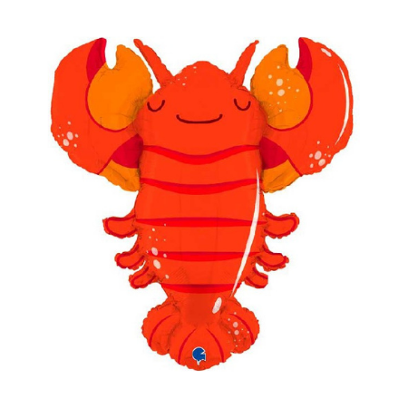 Large Red Lobster Foil Balloon I Under the Sea Party Decorations I My Dream Party Shop I UK