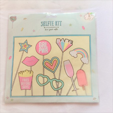 Girl's Pastel Selfie Kit I Girl's, Hen or Sleepover Party I My Dream Party Shop I UK