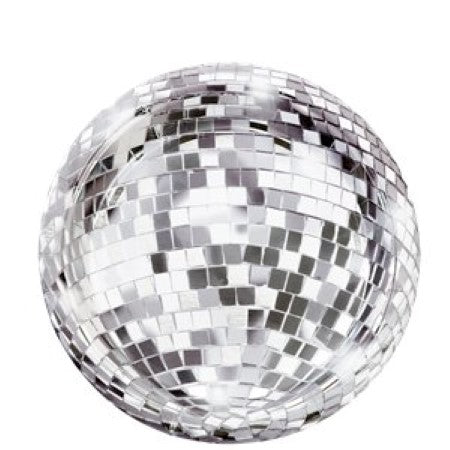 Glitterati Disco Ball Party Plates I Disco Party Tableware & Decorations I My Dream Party Shop I UK