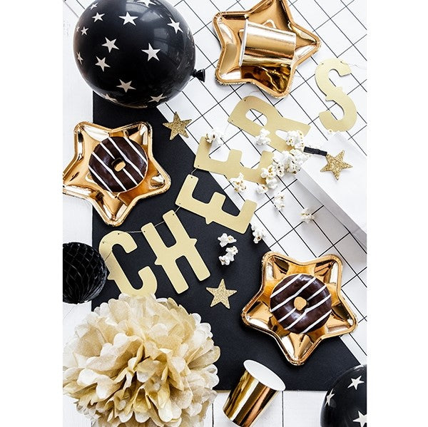 Glittery Gold Star Table Decorations I My Dream Party Shop I UK