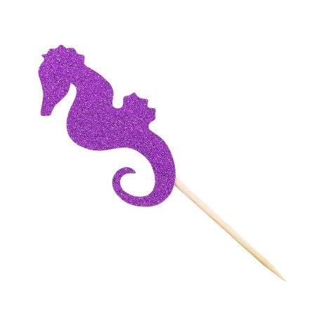 Glittery Under the Sea or Mermaid Party Cake Toppers I My Dream Party Shop I UK