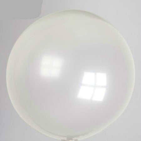 Large Giant Round Clear 24 Inch Latex Balloons - My Dream Party Shop