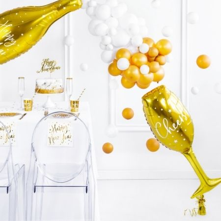 Gold Champagne Glass Balloon I New Year's Eve Party I My Dream Party Shop