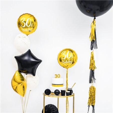 30th Birthday Gold Balloon I 30th Birthday Party Decorations I My Dream Party Shop UK