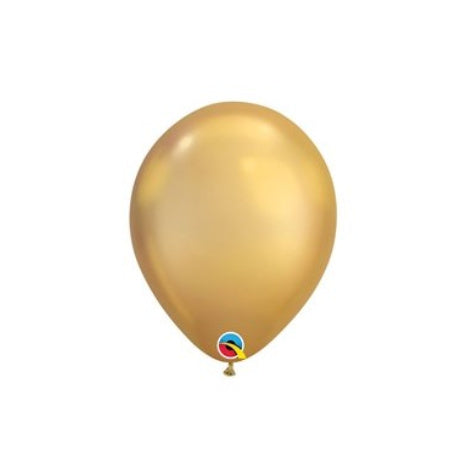 Gold Chrome Qualatex 11 Inch Party Balloons I My Dream Party Shop I UK